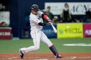 「6番・三塁」でスタメン起用されていた阪神・大山悠輔【写真:Getty Images】
