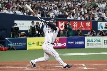 満塁弾を放ったオリックス・吉田正尚【写真:Getty Images】