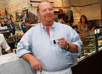 NEW YORK - AUGUST 31: Chef Mario Batali samples coffee during a tour of 'Eataly's prior to the grand opening of 'Eataly's' on August 31, 2010 in New York City. (Photo by Jemal Countess/Getty Images)