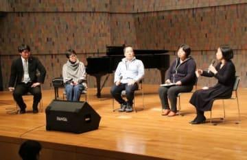 現状や課題について語る東日本大震災の被災者ら