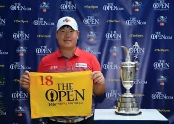 全英オープン出場を決めた日本ツアー出身のイム・ソンジェ(写真提供R&A)