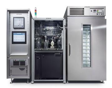 日立製作所が製品化したiPS細胞培養装置(同社提供)