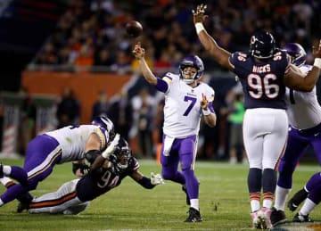 Case Keenum replaces Sam Bradford in Vikings' win vs. Bears