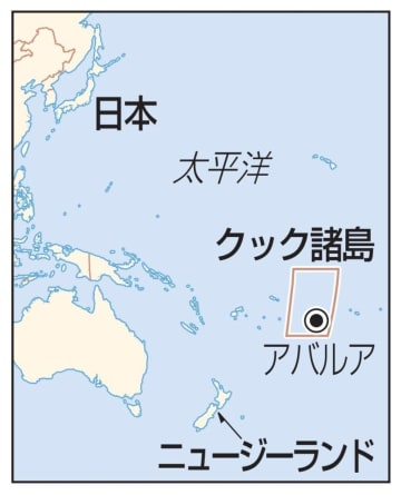 クック諸島、ニュージーランド、日本