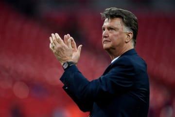 フットボール界からの引退を宣言したファン・ハール氏 photo/Getty Images