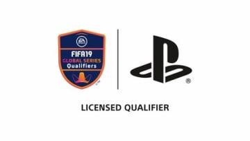 「PS4 FIFA 19 JAPAN Tournament」のロゴ