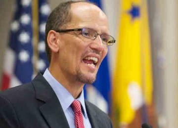 Description: English: Assistant United States Attorney General Thomas Perez, giving a speech in Washington D.C. on the 22nd anniversary of the passage of the Americans with Disabilities Act, July 26, 2012. Date: 27 July 2012, 16:37:42 Source:...