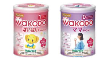 アサヒグループ食品とヌティフードが共同で開発した乳幼児・妊産婦向け粉ミルク(アサヒグループ食品提供)