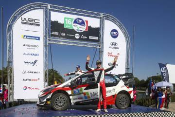 2019年FIA世界ラリー選手権(WRC)第3戦ラリー・メキシコ #8号車(オィット・タナック、マルティン・ヤルヴェオヤ)