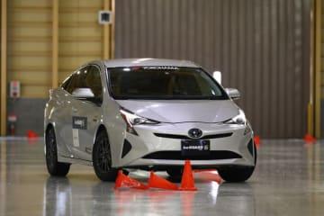 横浜ゴム タイヤ試乗会 吸水バルーンを通常よりも増加させたプロトタイプのアイスガード6