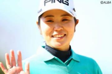 比嘉真美子、2週連続優勝で海外メジャーへの弾みをつけたい(撮影:村上航)