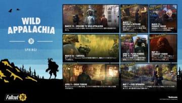 『Fallout 76』「ワイルドアパラチア」パッチ7について、既知の問題と今後の対応を公表