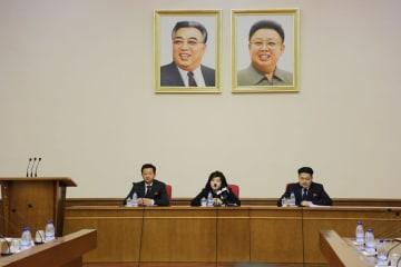 朝鮮外務次官、説明会を開催