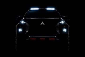 三菱自動車、2019年バンコク国際モーターショーで「トライトン」のスペシャルモデルを参考出品 公開されたティザー画像