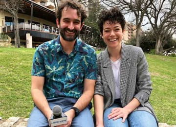 SXSW 2019 VIDEO EXCLUSIVE: Tatiana Maslany & Jay Duplass On 'Pink Wall,' Working With Tom Cullen