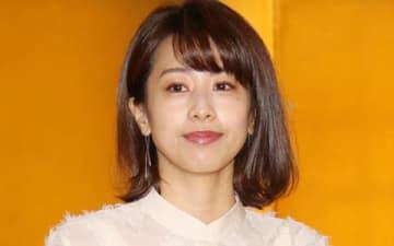 フジテレビの4月改編発表会に出席した加藤綾子さん