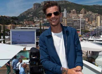 Louis Tomlinson 2016: Celebrities On The Red Bull Energy Station