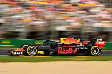2019年F1開幕戦オーストラリアGPでAston Martin Red Bull Racingのマックス・フェルスタッペン選手が3位表彰台を獲得。ホンダとして2015年のF1復帰以来初の表彰台 マックス・フェルスタッペン選手(Aston Martin Red Bull Racing)