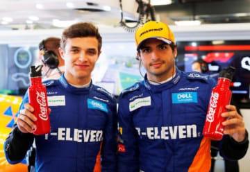 マクラーレンF1チーム、コカ・コーラ社とのパートナーシップ契約を延長