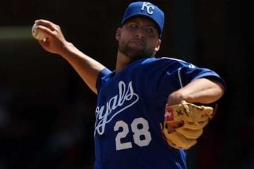 MLBのロイヤルズでもプレーしていたカイル・デイビーズ【写真:Getty Images】