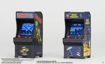 ミニ筐体ゲームシリーズ「TINY ARCADE」にスペースインベーダーとフロッガーが登場!