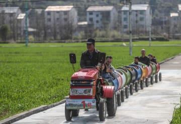 春の農村観光が人気 浙江省杭州市