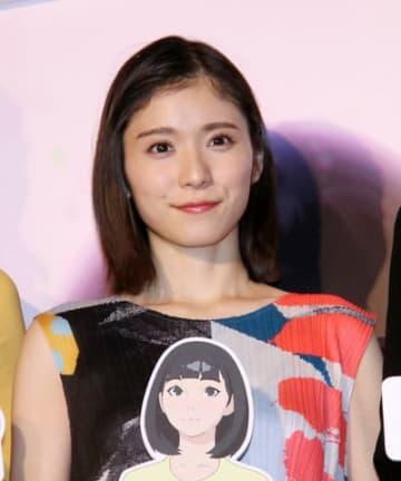 劇場版アニメ「バースデー・ワンダーランド」のジャパンプレミアに登場した松岡茉優さん