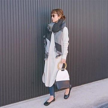 暖かくなる前から着こなしたい! 寒い時期から楽しむ、春っぽワンピースの着こなしアイデア集