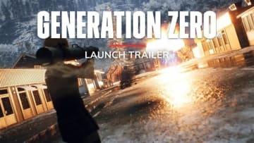 オープンワールドACT『Generation Zero』様々な環境や機械軍団との戦いを収録したローンチトレイラー公開