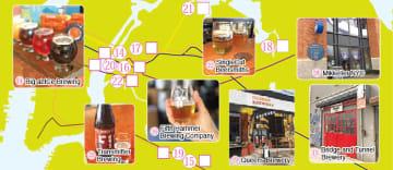 クイーンズ、ブルックリン 地ビールスタンプラリー