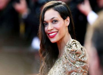 CANNES, FRANCE - MAY 21: Actress Rosario Dawson attends the 'Cleopatra' premiere during The 66th Annual Cannes Film Festival at The 60th Anniversary Theatre on May 21, 2013 in Cannes, France. (Photo by Vittorio Zunino Celotto/Getty Images)