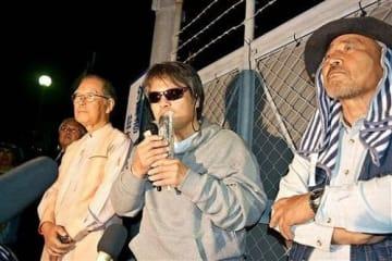 芥川賞作家・目取真俊さん勝訴 新基地抗議で逮捕は「違法」 那覇地裁判決