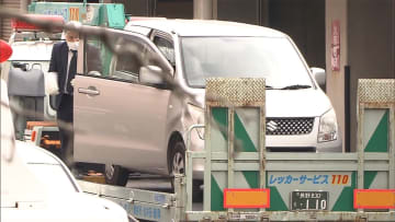 押収した車に粘着テープ・ラップ 「アポ電」犯行に使用か
