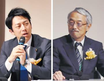 対談した小泉進次郎議員と長堀薫病院長