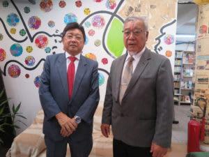 幸村ペドロ元理事長(市議)、松本評議員会長