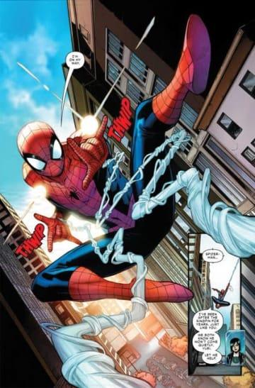 『Marvel's Spider-Man』コミカライズが海外で開始―キングピンとの死闘が描かれる冒頭4ページが公開