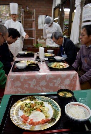 第1弾の「かわさきそだちランチ」。メニューを変え、毎月提供される=川崎市麻生区のレストランあさお