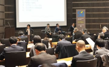 会場は満席となり、活発な議論や交流が行われた