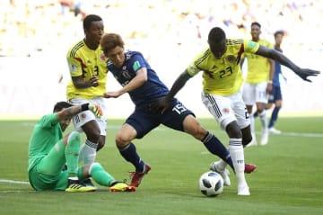 ロシアW杯ではコロンビアを撃破 photo/Getty Images