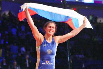 76kg級で世界一返り咲きを目指すことが予想されるナタリア・ボロビエワ(ロシア)