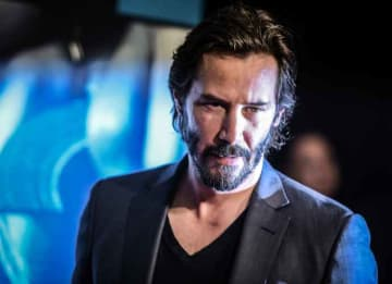 HOLLYWOOD, CA - OCTOBER 07: (Editors Note: This images has been processed using digital filters) Actor Keanu Reeves attends the premiere of 'Knock Knock' at TCL Chinese Theatre on October 7, 2015 in Hollywood, California. (Photo by Jason...