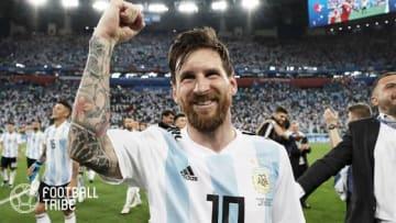 アルゼンチン代表のリオネル・メッシ 写真提供:GettyImages