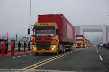 中越国境の北侖河二橋が開通 「一帯一路」相互接続を後押し