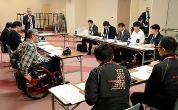 火の国まつりの日程を8月2~4日と決めた火の国まつり運営委員会=熊本市中央区