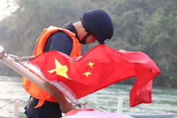 第80回メコン川合同パトロール法執行活動が始動