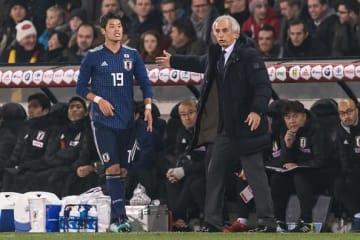 日本代表で師弟関係を結んだ酒井宏樹とハリルホジッチ監督 photo/Getty Images