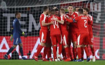 ドイツとも引き分けたセルビア代表 photo/Getty Images
