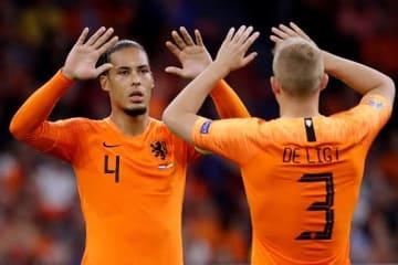 オランダ代表のコンビ photo/Getty Images