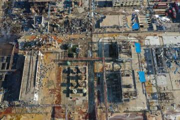 江蘇省の化学工場爆発事故、死者44人に