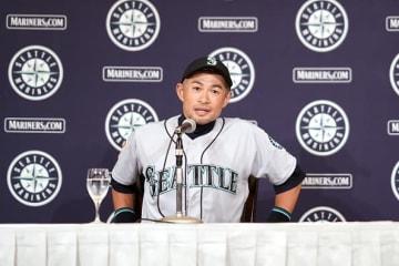 現役引退を表明したイチロー photo/Getty Images